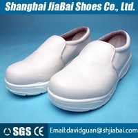 White Antistatic safety shoes cleanroom esd safety shoes/antistatic Kitchen clean shoes pu sole