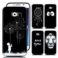 For Samsung Galaxy S6 TPU Case, Animal Lion Printed TPU Case For Samsung Galaxy S6