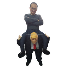 2017 Brand new design donald trump mascot costume ride on donald trump costume