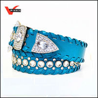 fashion western braided belt for women
