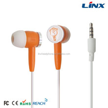 Mobile phone in-ear earphone and headphone free sample earphones
