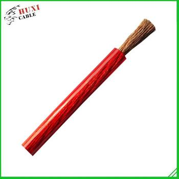 transparent red Heavy duty power cable,car power cable