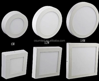 2015 good quality best selling mounted surfaced housing decorate 18w panel