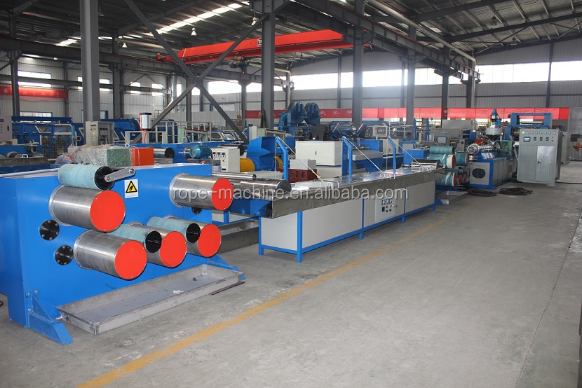 Extruder machine /Single filament yarn winding for electrical tape
