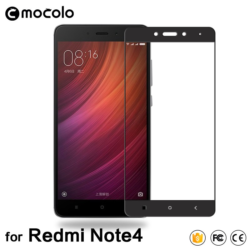 9H Hardness Premium Mobile Phone Tempered Glass Screen Protector For Xiaomi Redmi Note 4