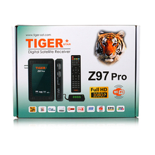 Z97 pro Digital Satellite FTA Receiver Box from Tiger Star with 3 months red iptv and one year L7 iptv