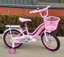 Hebei Tieniu factory princess kids bicycle 12 16 20 inch pink girls children bikes with training wheels
