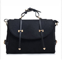 2014 Delicate New Design Fashion Woolen Cloth Double belt Handbag/Shoulder/Cross Body Bag( BLHM88 )