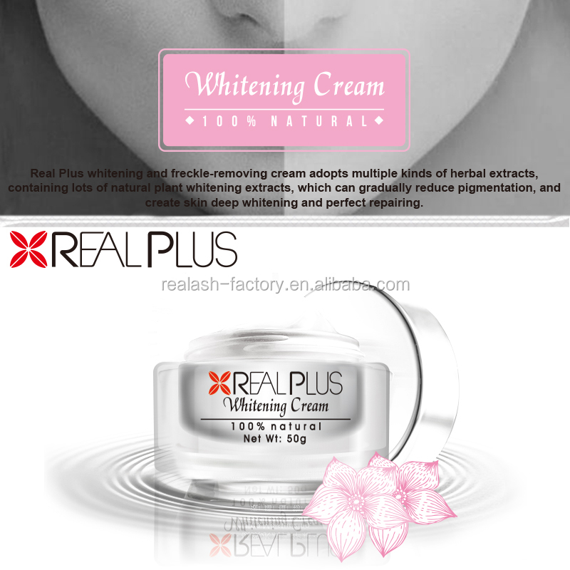 Brand Factory Online Shopping Amazing Effect Whitening Immediately REAL PLUS Skin Shine Beauty Cream