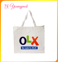laminated high quality colorful pp woven bags for shopping