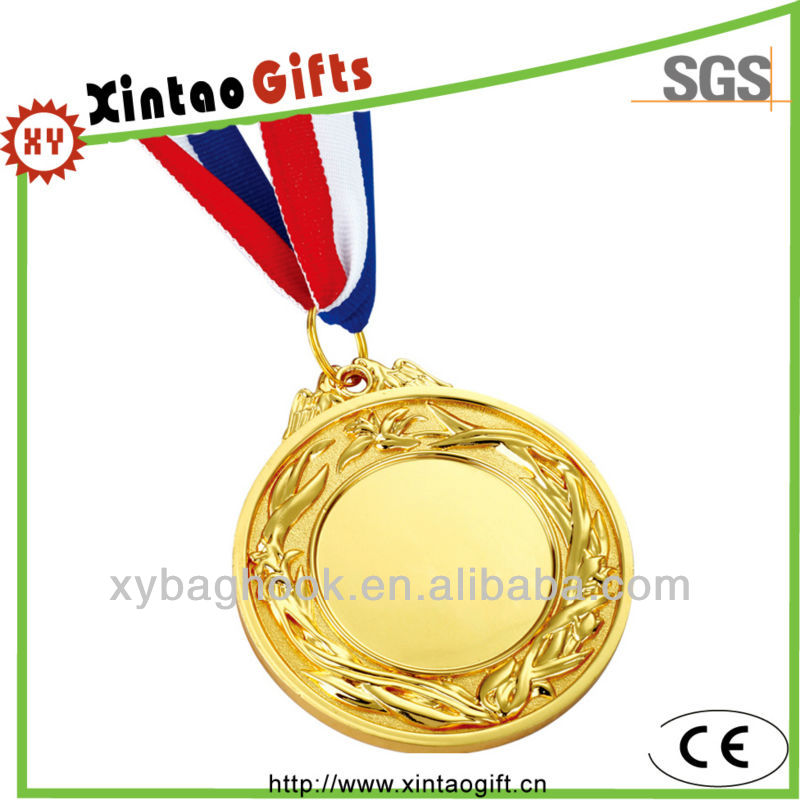wholesale gold plated commemorative medal