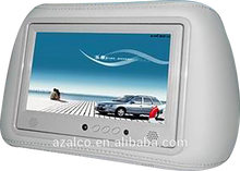 7 inch taxi advertising player headrest lcd monitor digital car advertising screen