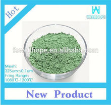 ceramic raibow colors pearl pigment Apple Green 926682 paint color pigment for pottery