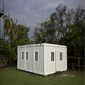 Low cost prefabricated container house