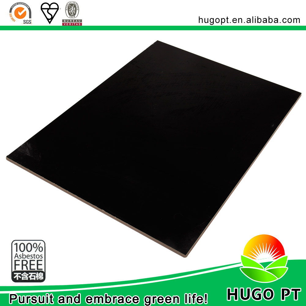 Building Materials Prefab Houses Anti Static 4Mm Black Hard Pvc Sheet