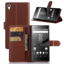 Manufacturer direct selling tpu pu leather mobile phone case for sony xperia Z5 Premium