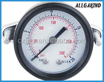 Y50ZCU General Back Connection Pressure Gauge With U-Clamp, Back Coonction