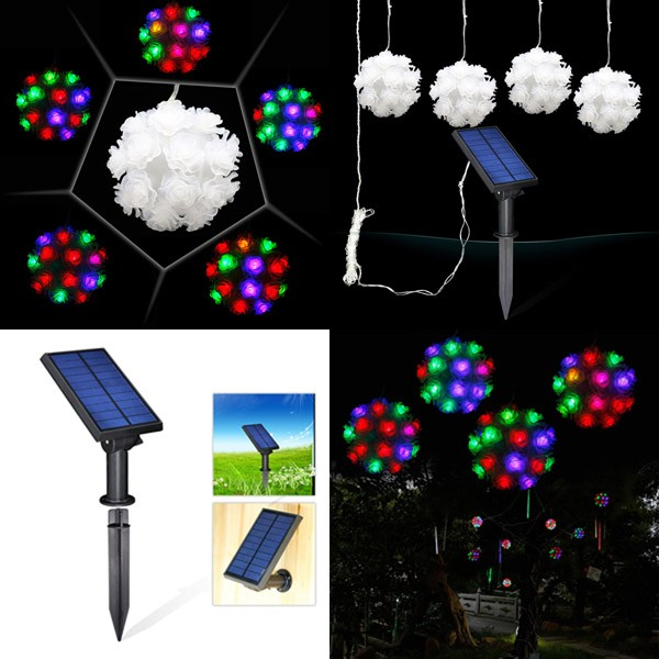 New design solar lights for Crafts christmas decorations solar led lights for crafts