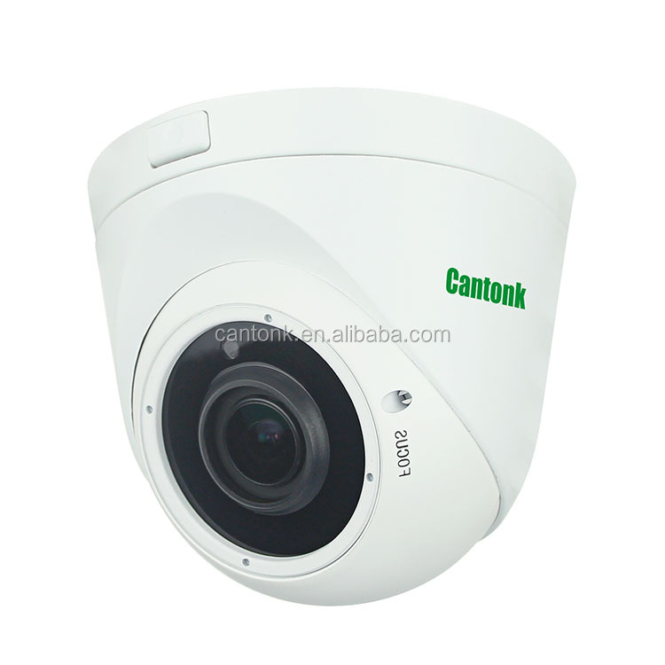 Cantonk IR waterproof HD New Product Vandal Dome 2MP 1080p HD TVI/CVI /AHD/CVBS CCTV Camera
