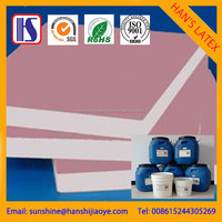 provide SGS ISO9001certificate white latex natural rubber latex adhesive used to gypsum plaster board