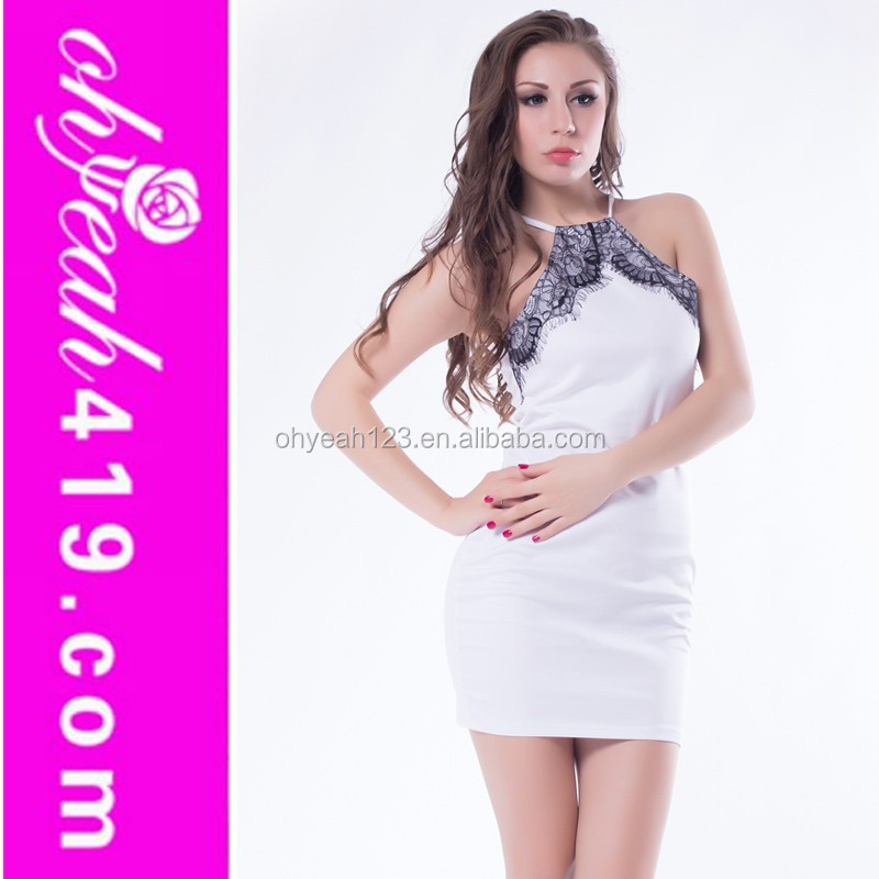 New arrival tight white gambar model gaun satin long dress