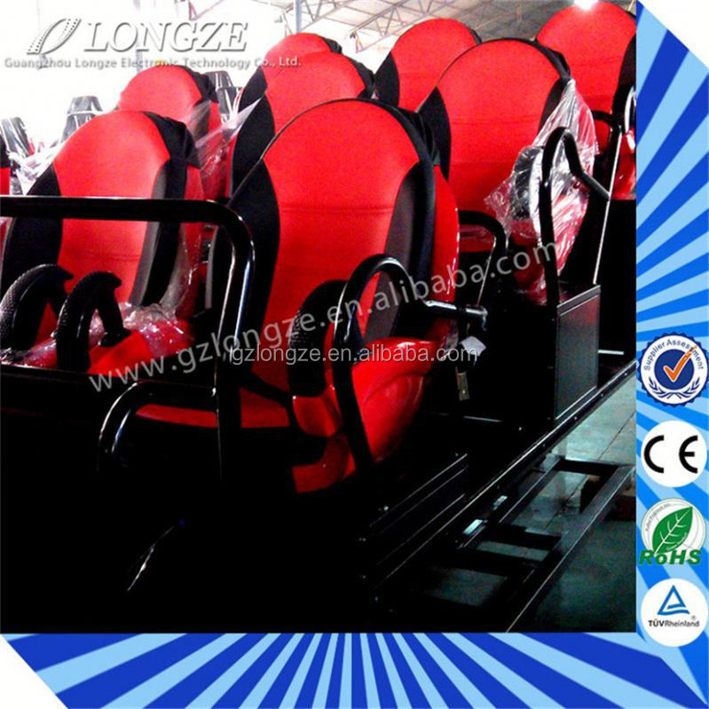 Newest High Quality 5D Exciting Small Investment 6Dof Electric Platform 7D Full Motion Base Simulator