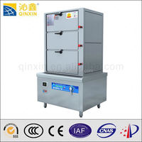 Commercial Induction restaurant large food steamer