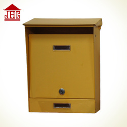 JHC-2072C letter boxes for sale/ european style mailbox wall mount/ modern mailbox