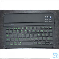 High quality Aluminum backlit bluetooth keyboard for iPad mini P-iPDMINIBTHKB018