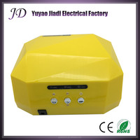 JIADI 36w led ccfl uv gel nail curing lamp
