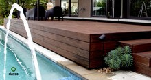 Dasso Moso XTR outdoor flooring Bamboo Decking replace High end WPC Exterior