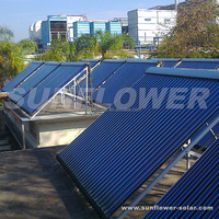 Solar water heater vacuum