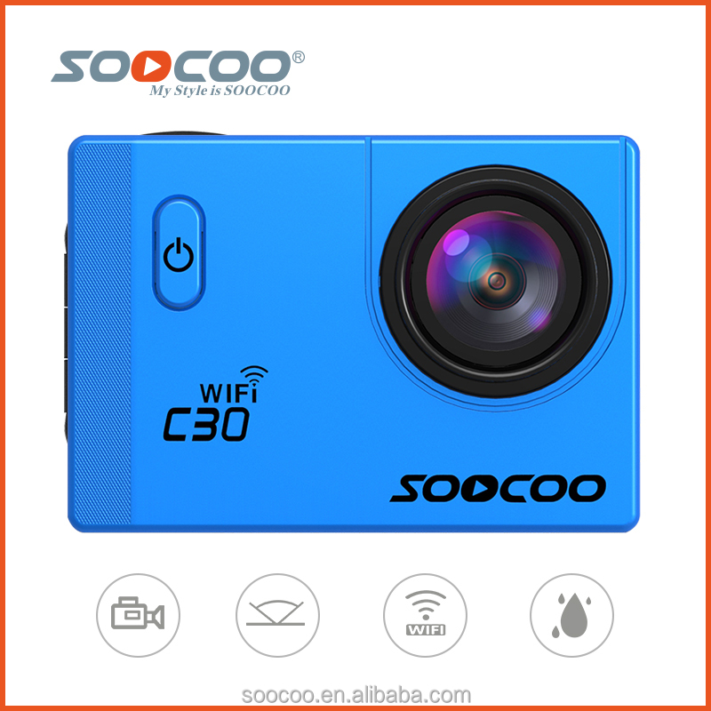 SOOCOO C30 2.0 Inch 20MP 70-170 Degree Wide-angles Available Ultra HD Action Cam 4k