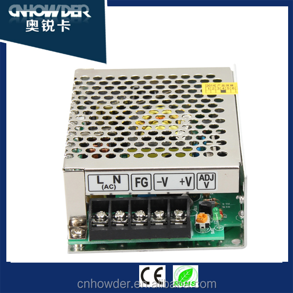 HOT SALE !!! S-60-12 mobile Power Supply with 12v 5a 60w ac dc Swithing Power Supply