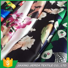 Digital printing polyester memory beautiful flowers lady suit fabric
