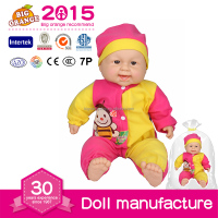 Newborn Mini Silicone Baby Born Doll Evironmental Material For Sale