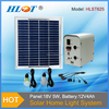 Solar power system / portable solar power home lighting system with 3 bulbs for 3rooms