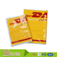 Invoice industrial express use eco friendly dhl color a4 plastic mail bag courier bag