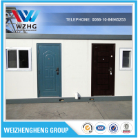 China Supplier container house prices portable prefabricated houses container