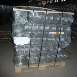 110m height galvanized hinge joint grassland fence wire mesh