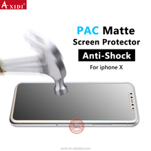 Top Quality Screen Protector Guards For IPhone X TPU Anti-Scratch PAC Matte Film
