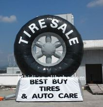 inflatable tire balloon to increase tire sales K3013