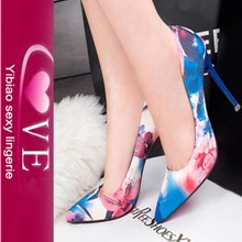 China Supplier Summer Trend Top Quality Ladies High Heel Shoes