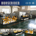 PP/PVC Plastic Single Wall Corrugated Pipe Extrusion Machine