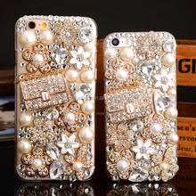 Luxury diamond case back cover for iPhone 5 6 6 Plus, Bling bling case for iPhone 7 7 Plus