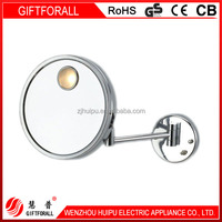 3 Times Amplification Round Hanging Makeup Mirror