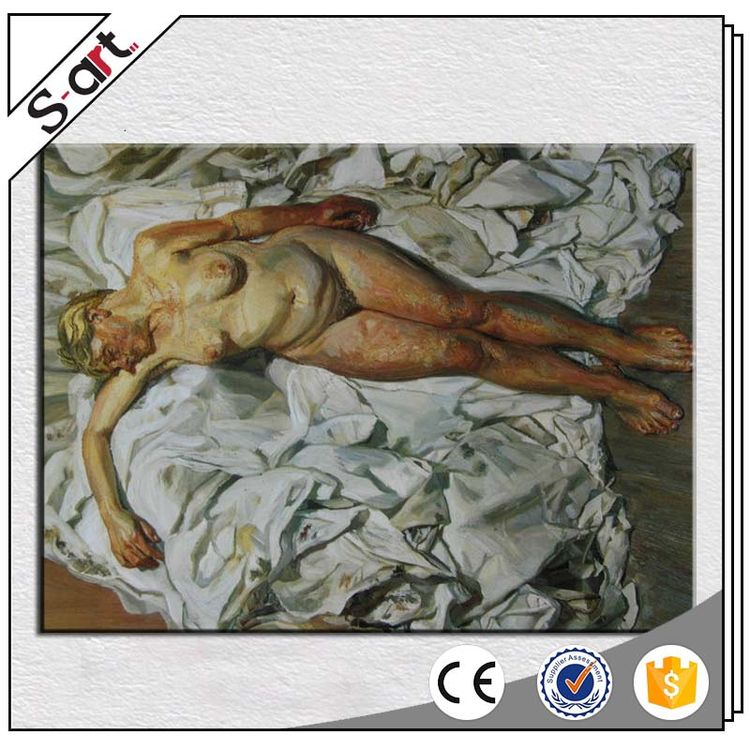 China factory hotsell sexy nude beautiful woman oil painting
