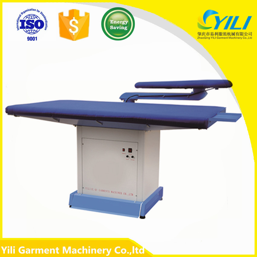 ironing table with swing arm laundary machine