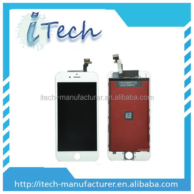 for iphone 6 lcd touch screen copy, lcd display digitizer touch screen for iphone 6 made in china