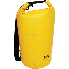 Fashion 500D PVC waterproof dry bag 3L-40L For outdoor activities and watersports